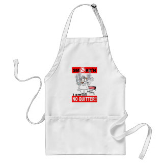 NO QUITTER_1 ADULT APRON