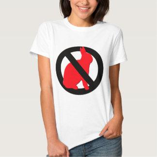 No Rabbits Allowed T Shirt