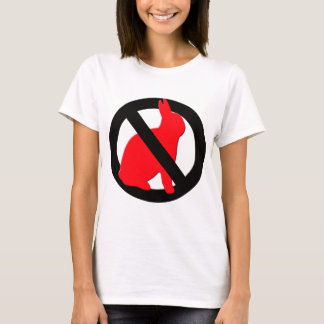 No Rabbits Allowed T-Shirt