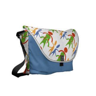 No Racism Allowed Courier Bag