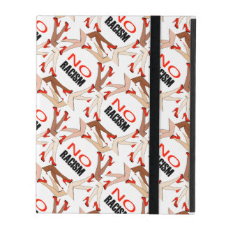 No racism iPad folio cases