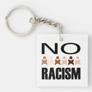 NO RACISM KEYCHAIN