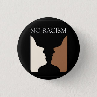 No racism with rubins vase button