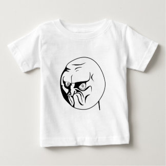 NO! Rage Comic Internet Meme Baby T-Shirt