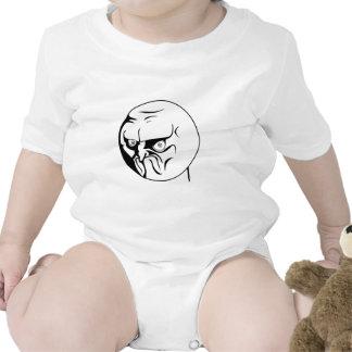 NO! Rage Comic Internet Meme Baby Bodysuits