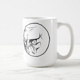 NO. Rage Face Coffee Mug
