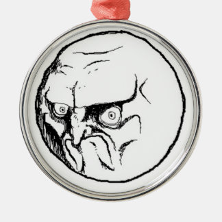 NO. Rage Face Christmas Ornaments