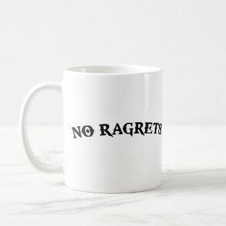 No Ragrets Mispelled Regrets Tattoo Coffee Mug
