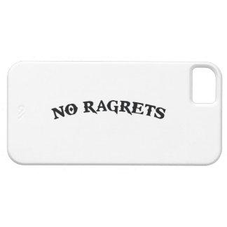 No Ragrets Mispelled Regrets Tattoo iPhone SE/5/5s Case