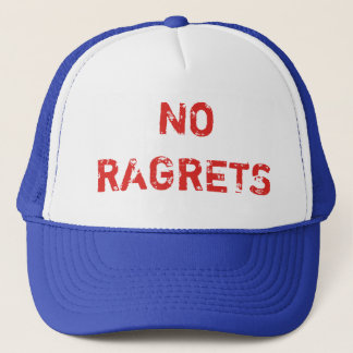 No Ragrets Trucker Cap
