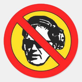 'No Rangoons' Sticker