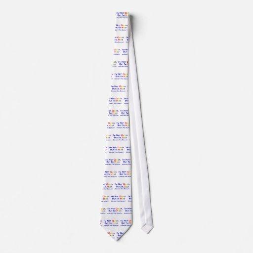 No raro pero aquí corbata personalizada