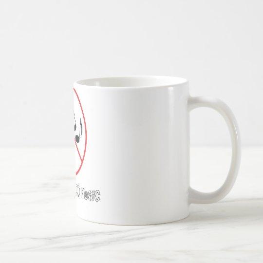 No Recycled Music Coffee Mug