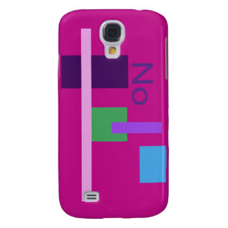 No Red Violet Samsung Galaxy S4 Case