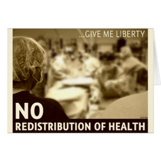 No Redistribution of Health Card