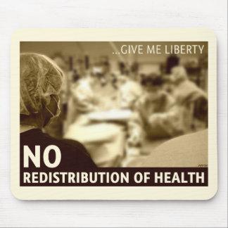 No Redistribution of Health Mousepad