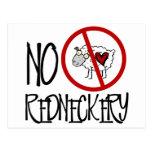No Redneckery! Funny Redneck Sheep Postcards