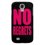 NO Regrets iPhone 3G/3GS Speck Case Galaxy S4 Case