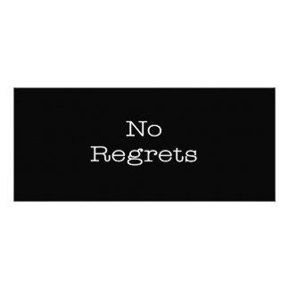 No Regrets Quotes Inspirational Motivation Quote Invites