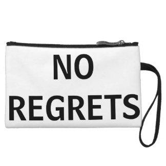 NO REGRETS WRISTLET WALLET