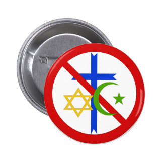 No Religion Button