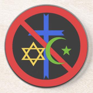 No Religion Coaster