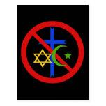 No Religion Postcard