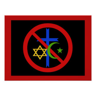 No Religion Posters