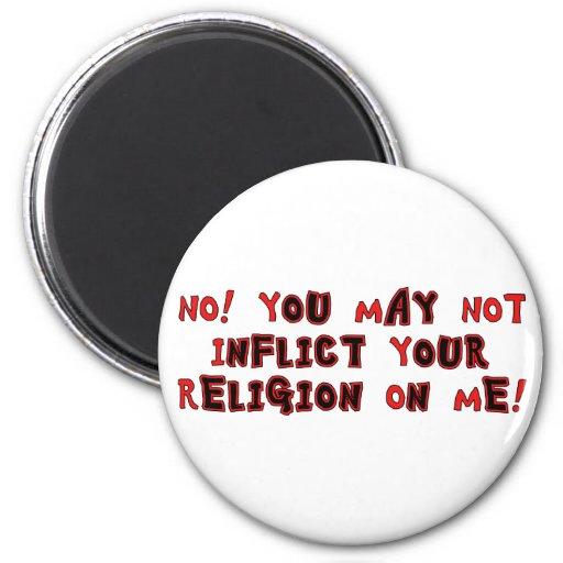 No Religion Refrigerator Magnet