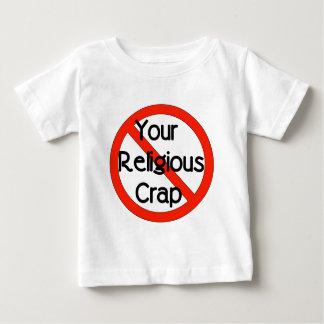 No Religious Crap Baby T-Shirt