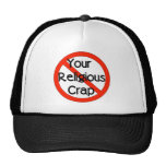No Religious Crap Hats