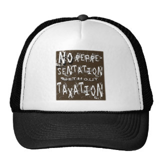 No Representation Without Taxation Trucker Hat