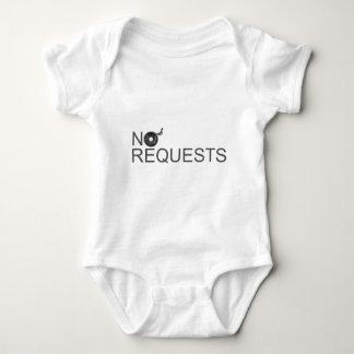 No Requests - DJ Disc Jockey Music Vinyl Baby Bodysuit