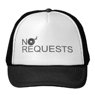 No Requests - DJ Disc Jockey Music Vinyl Hats