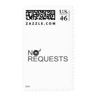 No Requests - DJ Disc Jockey Music Vinyl Postage