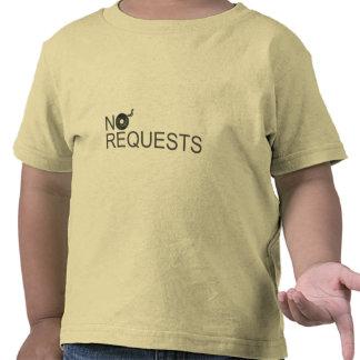 No Requests - DJ Disc Jockey Music Vinyl T-shirt