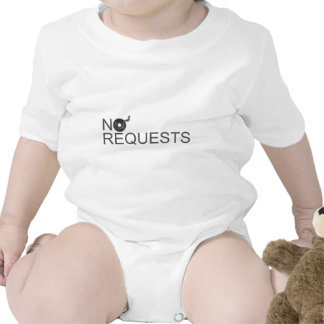 No Requests - DJ Disc Jockey Music Vinyl T-shirt