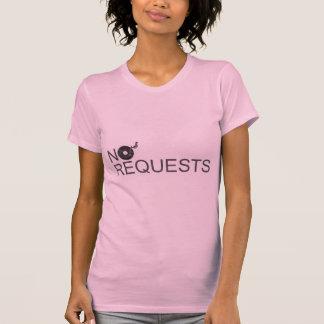 No Requests - DJ Disc Jockey Music Vinyl Tshirts