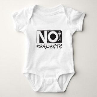 No Requests - DJ DJing Disc Jockey Music Baby Bodysuit