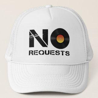 No Requests DJ Music Trucker Hat