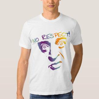No Respect Rainbow Print T-Shirt