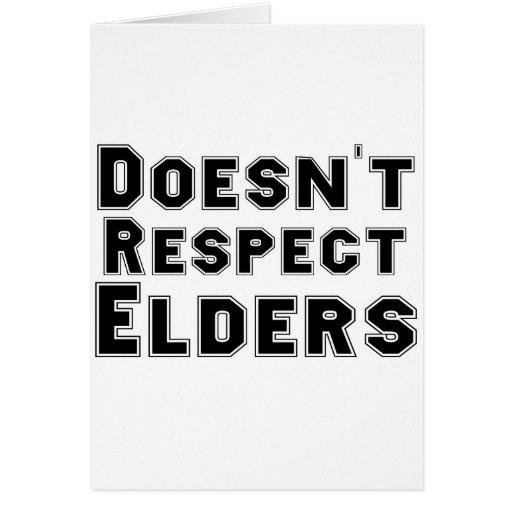 No respeta ancianos tarjetón