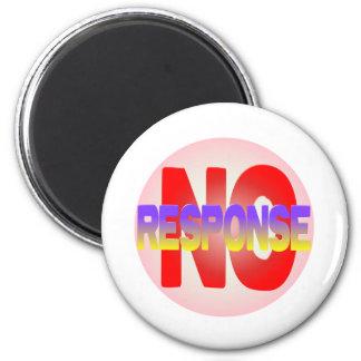 no response 2 inch round magnet