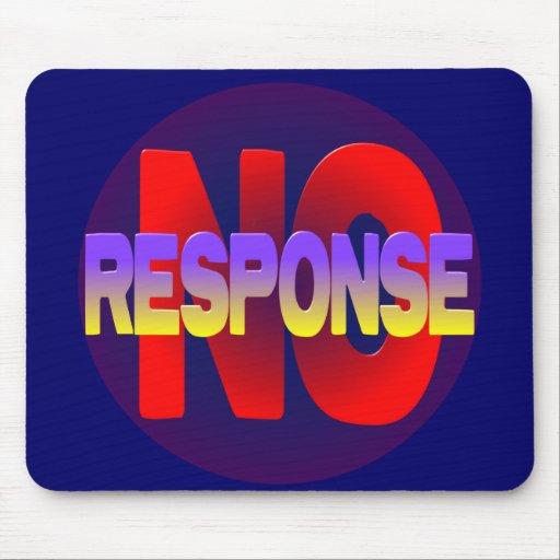 no response mouse pad