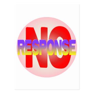 no response postcard