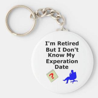 No retiró ninguna fecha de Experation Llaveros