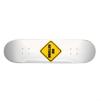 NO_RETURN SKATEBOARD DECK