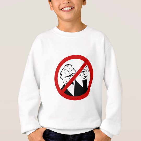 no-rich-jerks sweatshirt