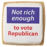 No rico bastante votar al republicano