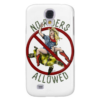 No Riders Allowed Galaxy S4 Cover